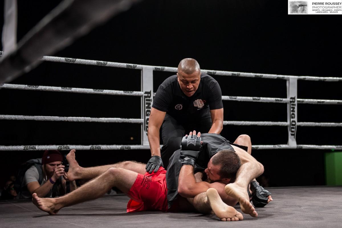 Finale Tournoi -71kg Mehdi Dakaev bat Molvet Gekhaev par clé de bras inversée au round 2 (2,40mn)