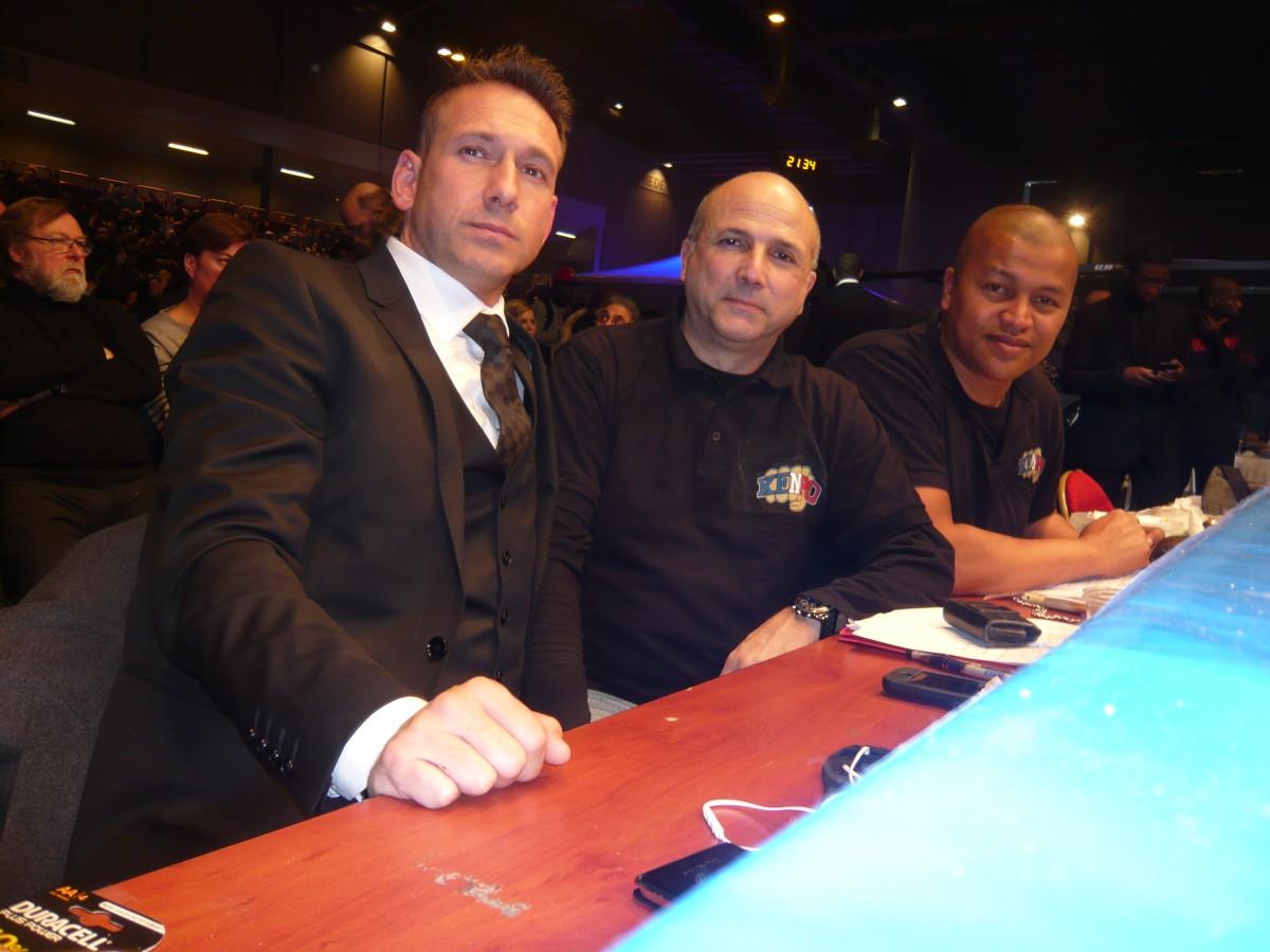 Staff Féréral : Cyril Bravais, Eric La Rocca et Nini