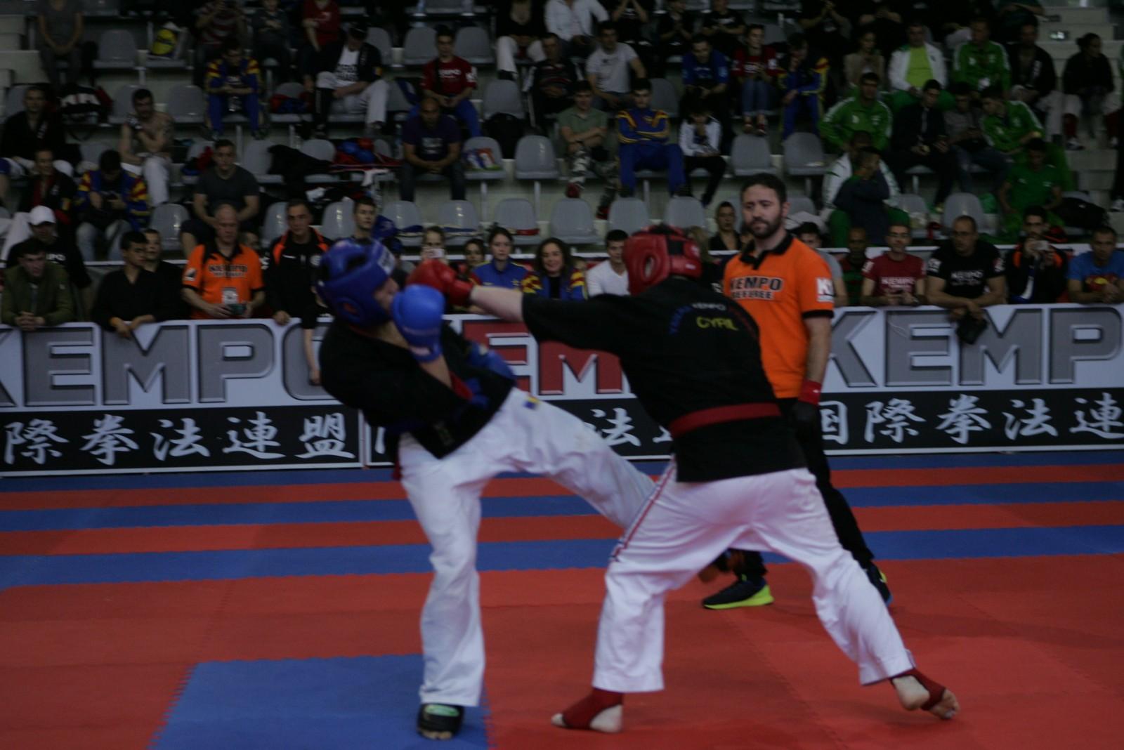 Finale des - 80 kg Sylvain charrier vs Aurel Pirtea