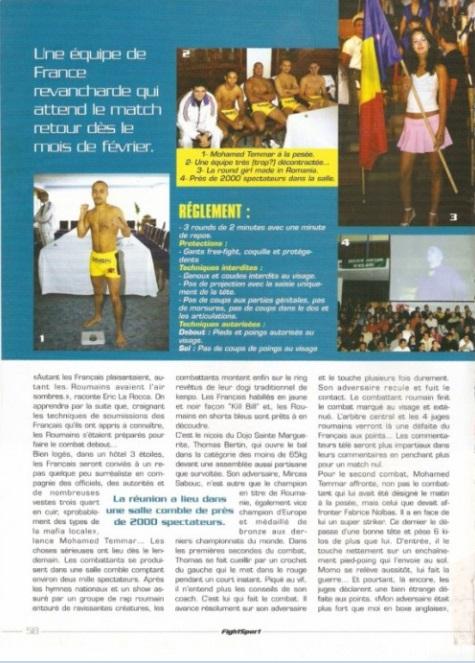 page 3 Fight Sport Free fight dans Les Carpates