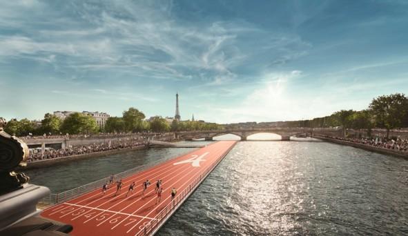 Piste Athlètisme sur la Seine