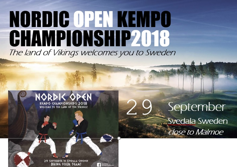 Invitation 2e Nordic Open Kenpô