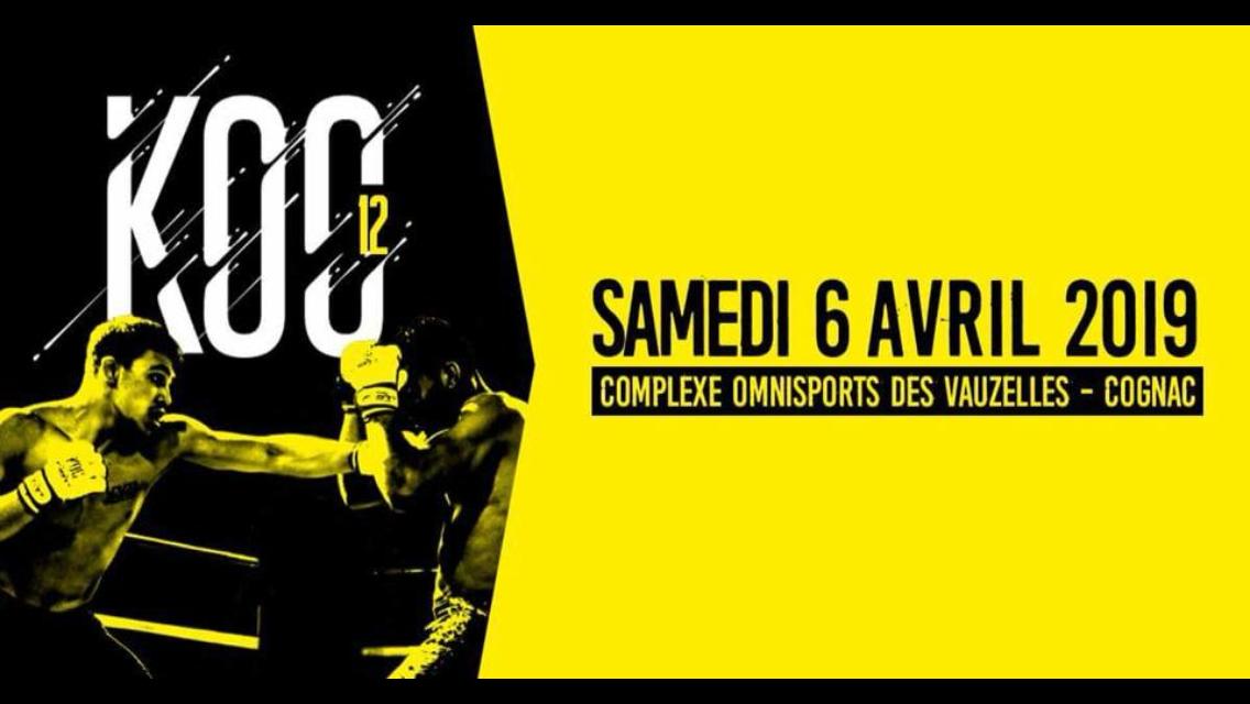 Kenpo France Federation » Fightcard KOC 12 Samedi 6 avril 2019