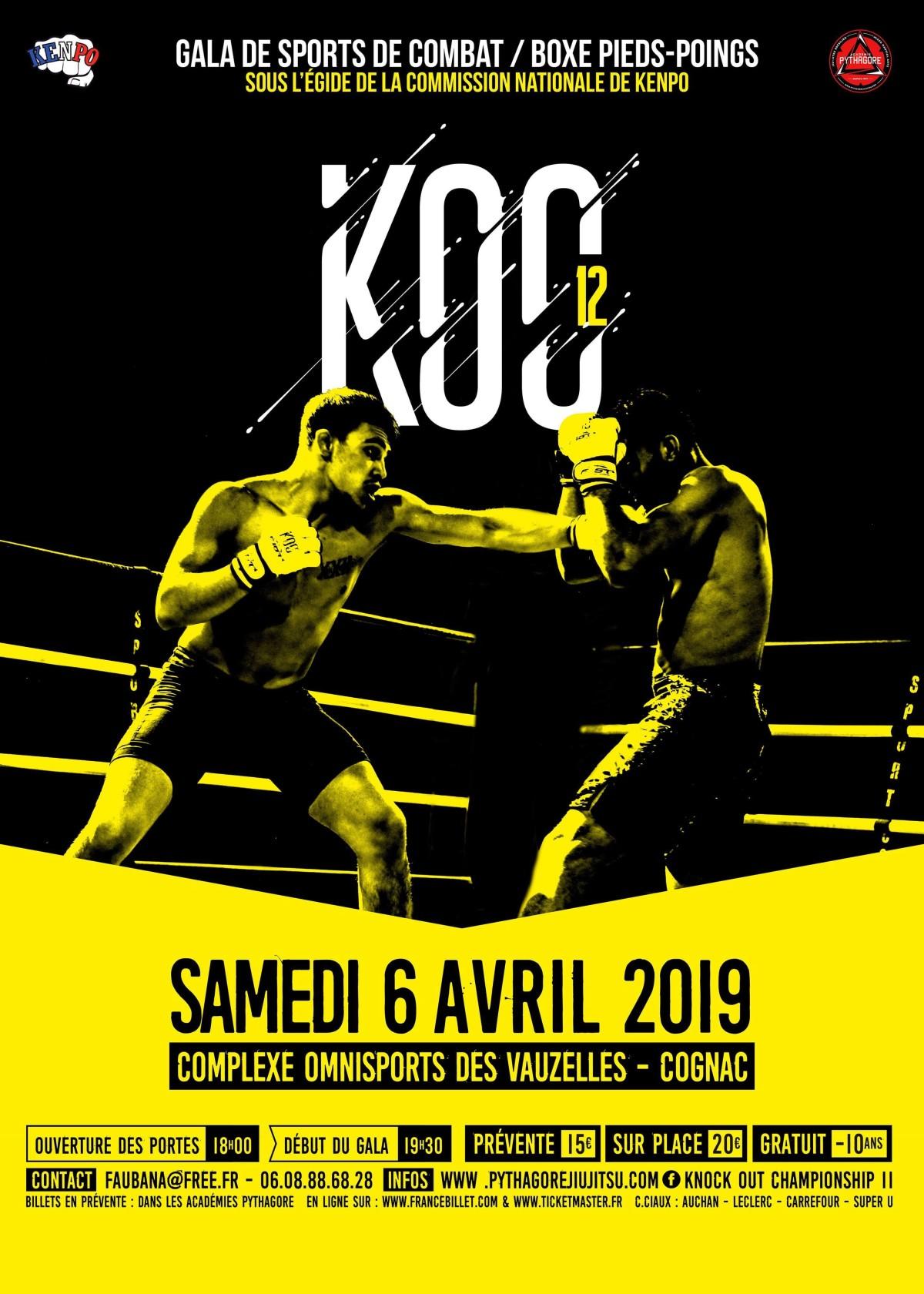 Kenpo France Federation » Teaser KOC XII 6 avril 2019