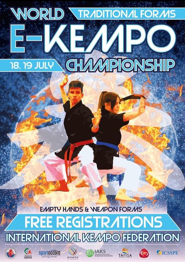 Poster E-Kempo IKF Championship 2020